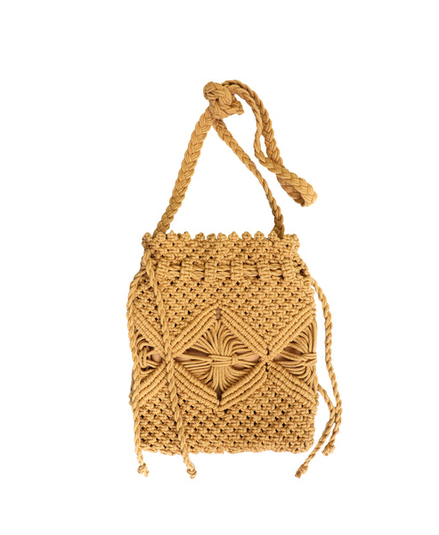 Zoom view for Handmade Macramé Crossbody Bag