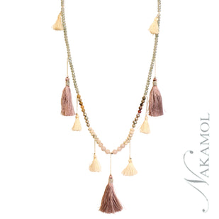 Tassel Station Necklace