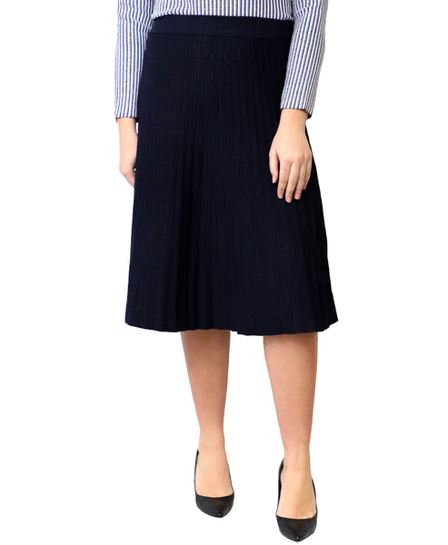 Zoom view for Knit Pleated Skirt