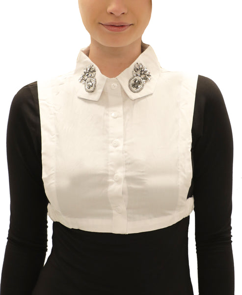 Embellished Collar Dickie