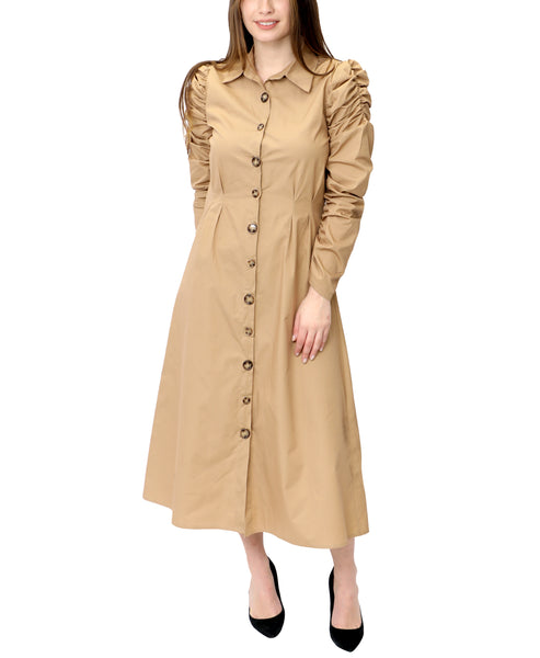 Zoom view for A-Line Shirt Dress