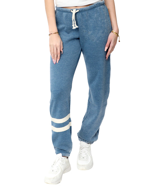 Zoom view for Stripe Drawstring Sweatpant A