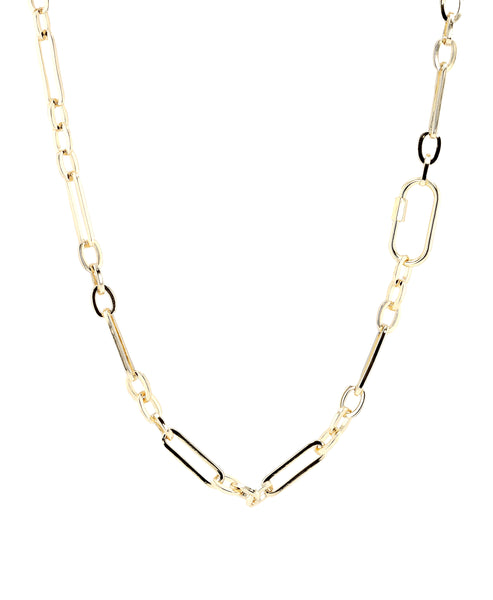 Zoom view for Long Linked Necklace A
