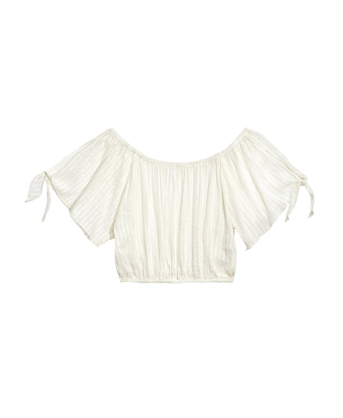 Zoom view for Light-weight Cropped Top A