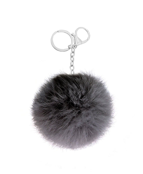 Zoom view for Fox Fur Keychain / Bag Charm