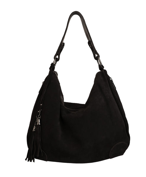 Zoom view for Suede Hobo Handbag