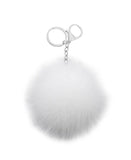 Fox Fur Keychain / Bag Charm - Fox's
