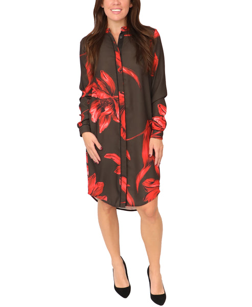 Floral Shirtdress - Fox's
