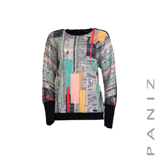 Dolman Sleeve Print Top