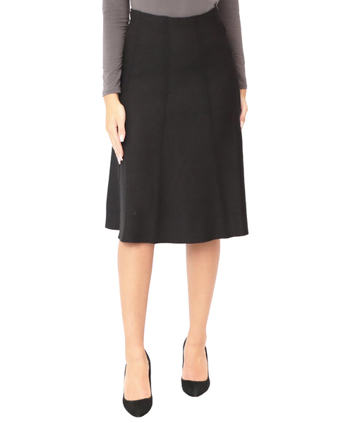 A-Line Knit Skirt - Fox's