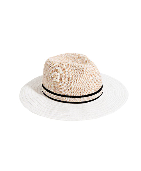 Zoom view for Two-Tone Straw Hat w/ Band