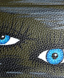 "Handpainted ""Eye"" Wristlet"