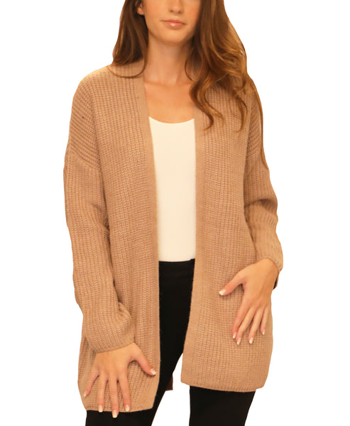 Cardigan Sweater w/ Lace Up Back - Fox's