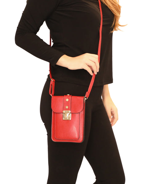 Cell Phone Holder Crossbody Bag