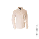 Pearl Button Hi-Lo Shirt