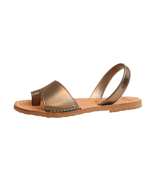 Leather Toe Ring Sandal