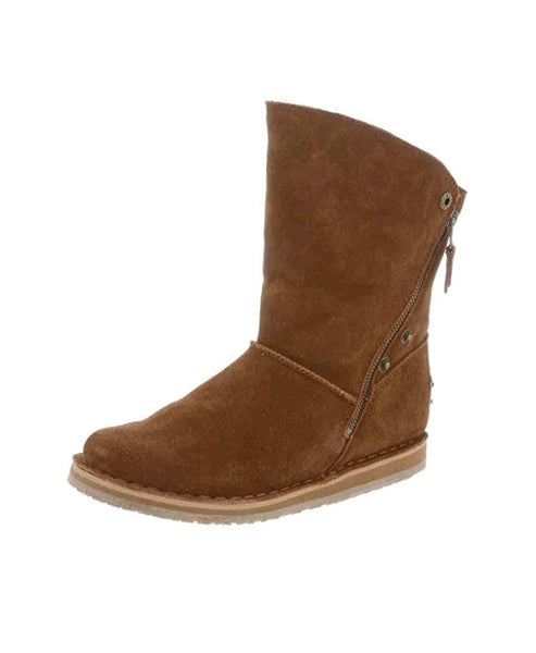 Sheepskin Bootie w/ Zippers - Fox's