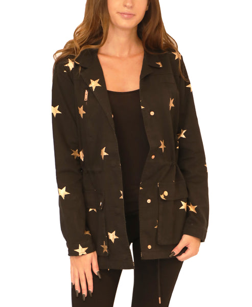 Anorak Jacket w/ Bronze Stars - Fox's