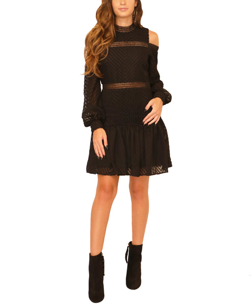 Cold Shoulder Dress - Fox's