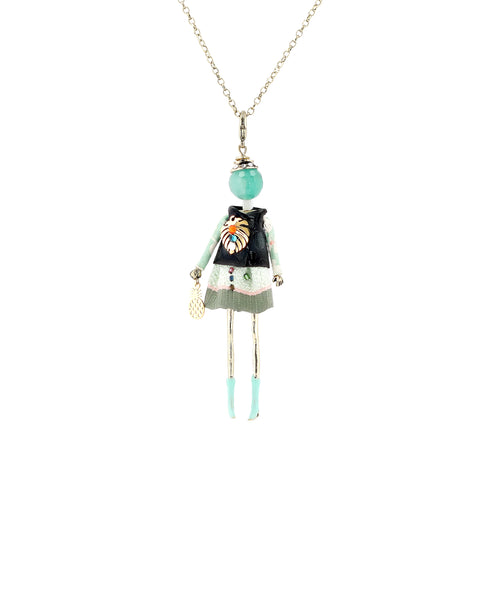 Zoom view for Long Necklace w/ Figurine