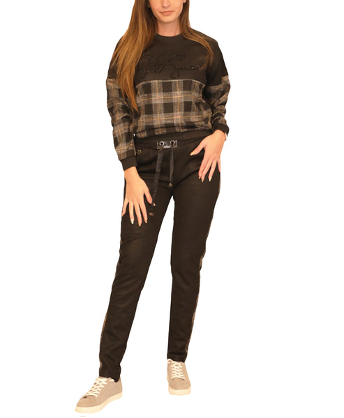 Plaid Top & Pant Set - Fox's