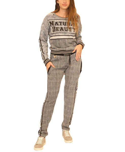 Glen Plaid Plaid Top & Pant Set - Fox's