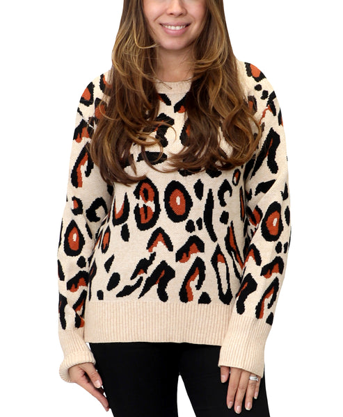Zoom view for Leopard Print Sweater
