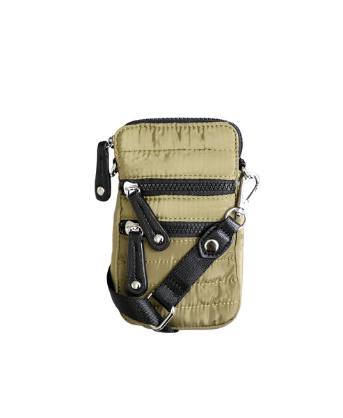 Zoom view for Quilted Nylon Cell Phone Crossbody