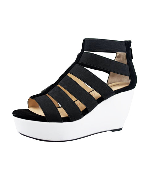 Zoom view for Colorblock Wedge Sandal