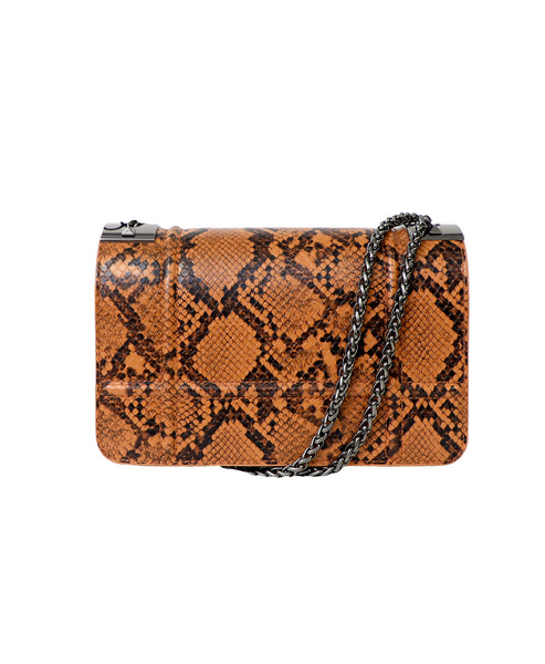 Zoom view for Snake Crossbody w/ Chain Strap