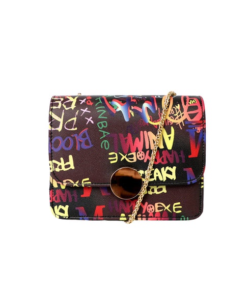 Zoom view for Graffiti Print Crossbody