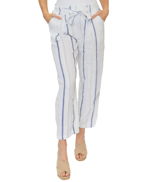 Zoom view for Linen Stripe Pants