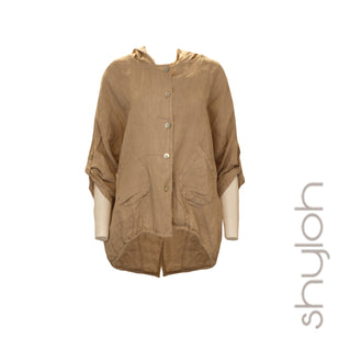 Linen Hooded Jacket