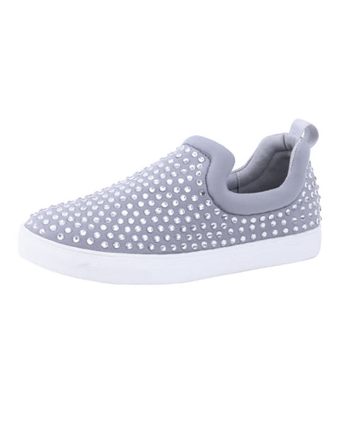 Crystal Slip-On Sneaker