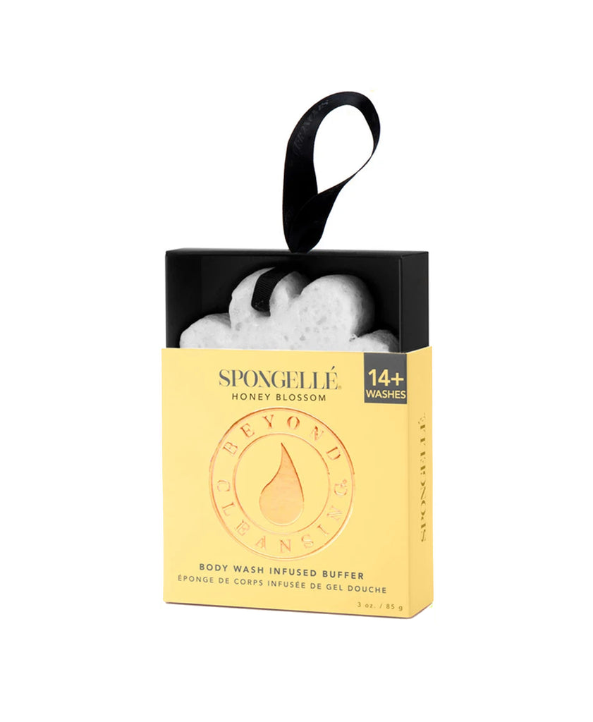 Spongelle Wild Flower Bath Sponge- Honey Blossom
