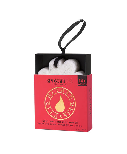 Zoom view for Spongelle Wild Flower Bath Sponge- Sugar Dahlia A