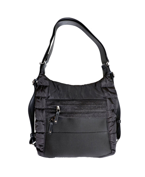 Zoom view for Nylon Convertible Hobo Backpack