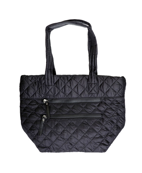 Zoom view for Diamond Quilted Nylon Tote