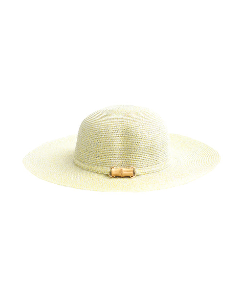 Zoom view for Straw Hat w/ Bamboo Accent
