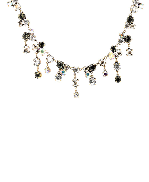 Zoom view for Rhinestone Necklace w/ Dangles A