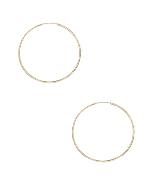 Zoom view for Small Endless Hoop Earrings