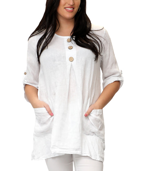 Zoom view for Linen Tunic