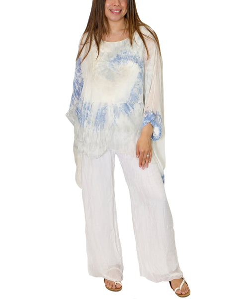 Zoom view for Double Layer Tie Dye Tunic