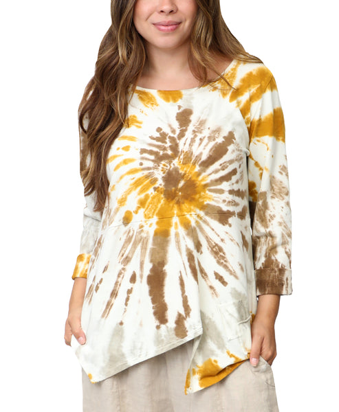 Zoom view for Tie Dye Tunic Top A
