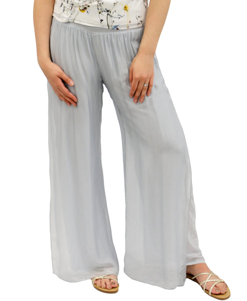 Zoom view for Silk Pants w/ Side Slit A