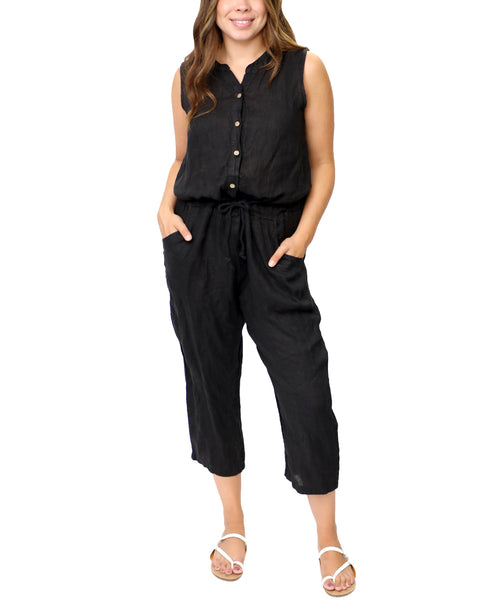 Zoom view for Linen Jumpsuit A