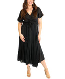 Popover Linen Dress- 2 Pc. Set