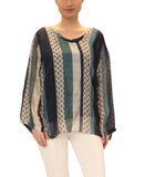 Silk Stripe Tunic
