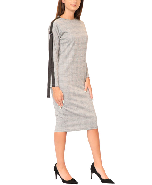 Glen Plaid Sheath Dress - Fox's