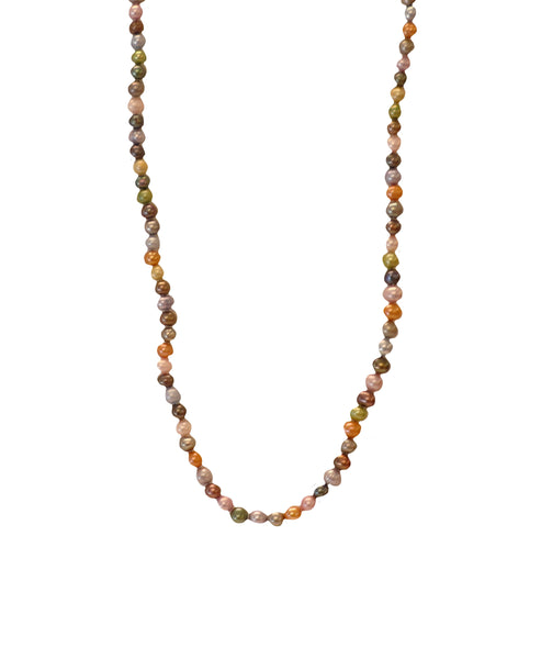 "Cultured Multi Colored Pearl Necklace- 47"" - Fox's"